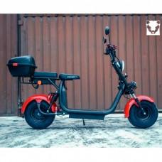 Электроскутер Citycoco WS Pro+ 2000W - Красный