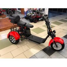 Электроскутер Citycoco WS-PRO Trike 2000w 20Ah - Красный