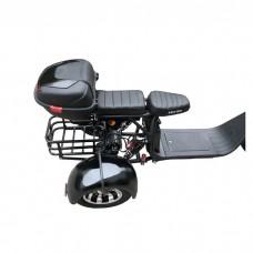 Электроскутер Citycoco WS-PRO Trike 2000w 20Ah - Черный
